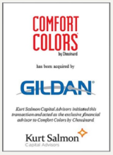 Comfort Colors has been acquired by Gildan Activewear Kurt Salmon