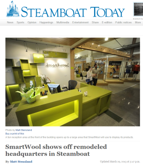 SmartWool shows off remodeled headquarters in Steamboat Steamboat Pilot Today
