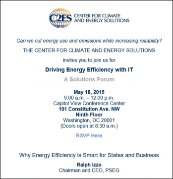 C2ES Driving Energy Efficiency with IT